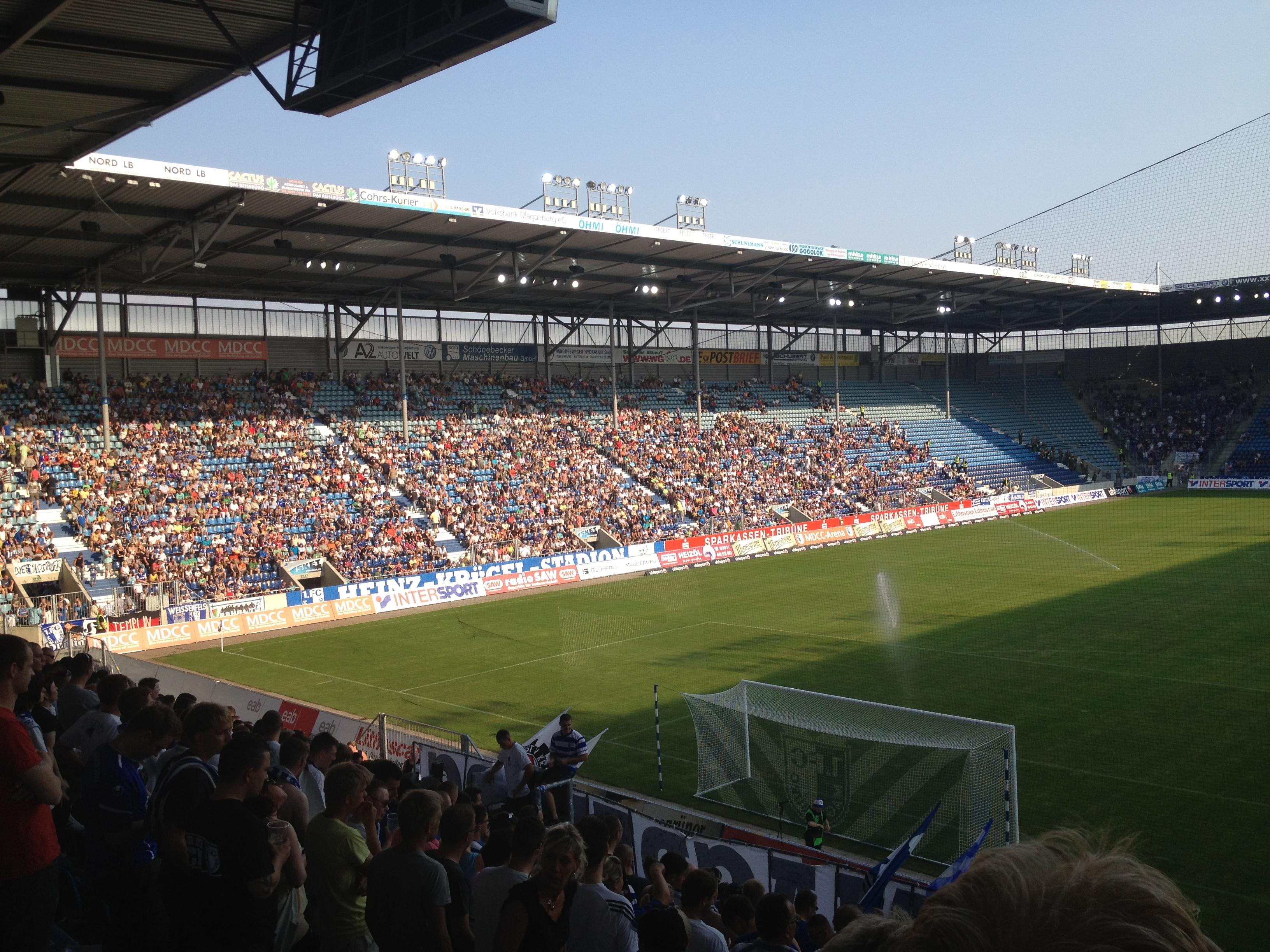 Gegengerade FCM - Schalke