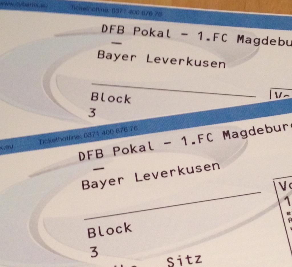 Zu gewinnen: 2 Tickets gegen Leverkusen