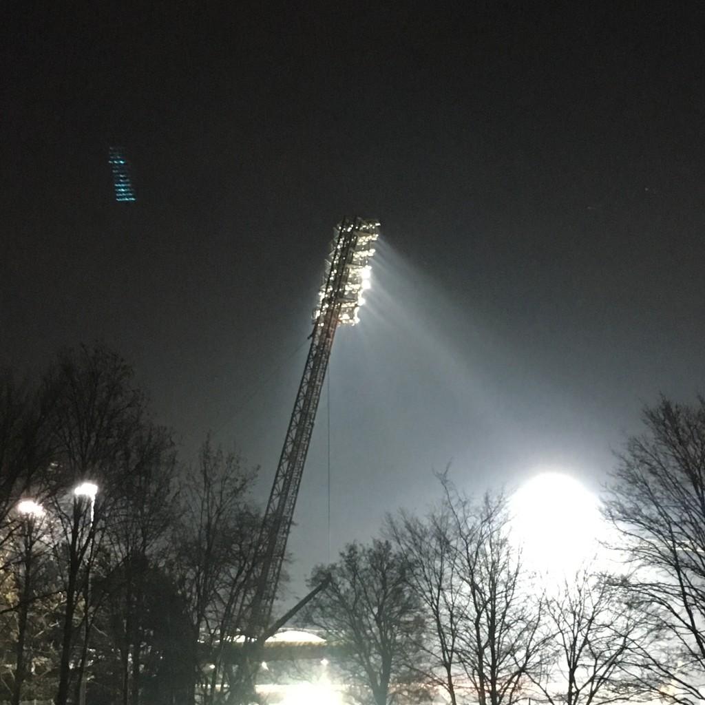 Von einem Besuch im Steigerwaldstadion