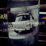 F.C. Hansa Rostock beim 1. FC Magdeburg am 29. Spieltag
