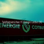 FC Energie und dem 1. FC Magdeburg am 30. Spieltag