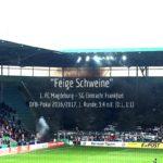 DFB-Pokalspiel gegen die SGE