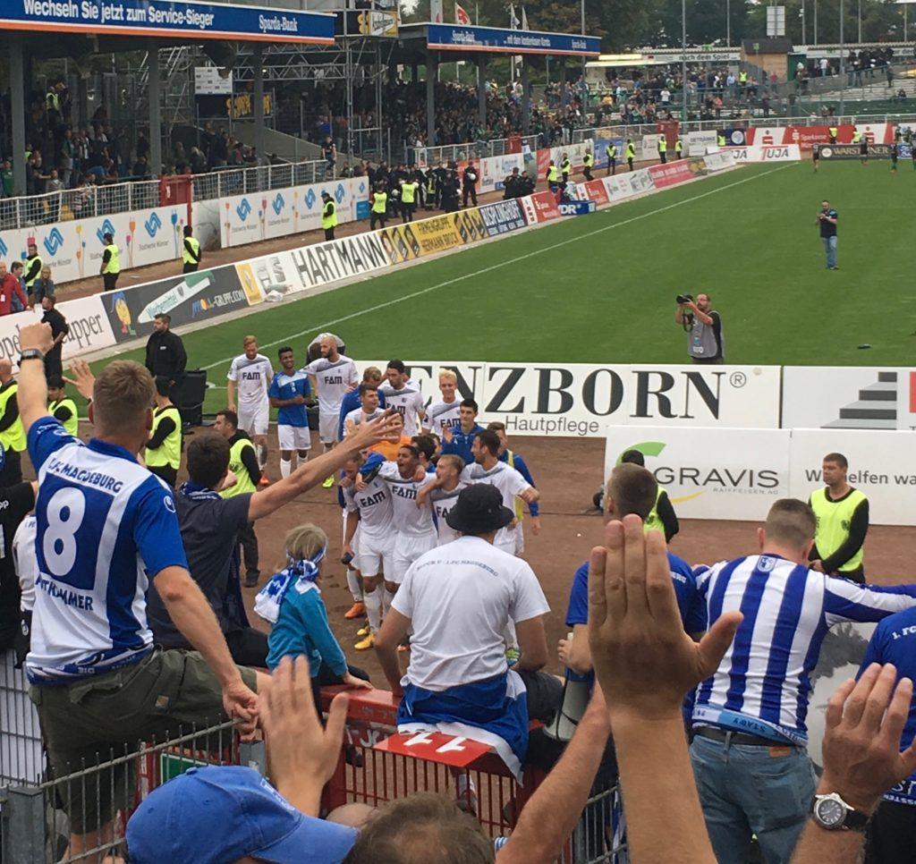 Auswärtssieg in Münster