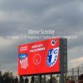 Nachholpartie gegen den FSV Zwickau